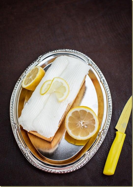 Starbucks Lemon Loaf Cake - the True Copycat Recipe, fluffy, yet dense, yet moist with a delicious lemony glaze| by LettheBakingBeginBlog.com | @Letthebakingbgn