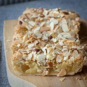 Almond & Pineapple Tart