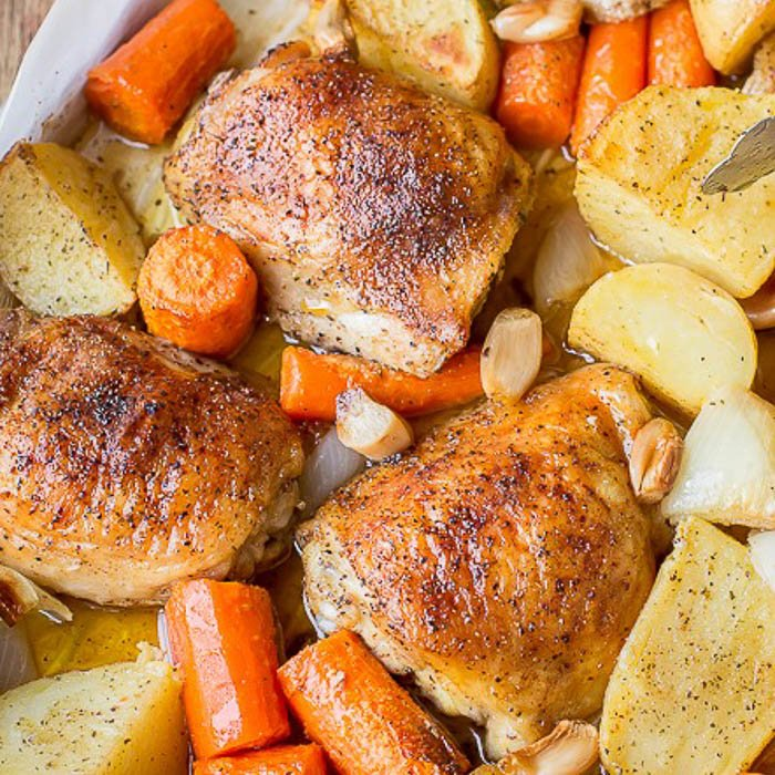 One Pot Chicken & Potatoes