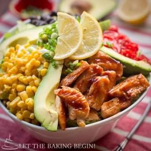 Copycat Cheesecake Factory BBQ Ranch Chicken Salad