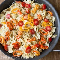 Leftover Turkey Bow-tie Pasta