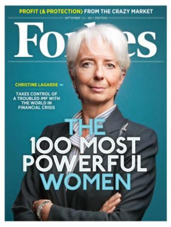 Christine Lagarde... Forbes Magazine...
