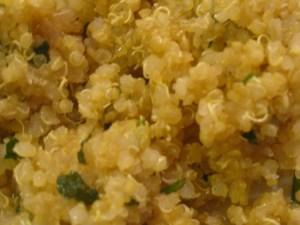 lemon parsley quinoa