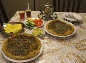 Manakeesh-Zaatar Pizza - The Levantess