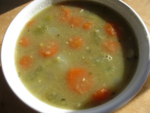 Meatless Split Pea Soup | The Levantess
