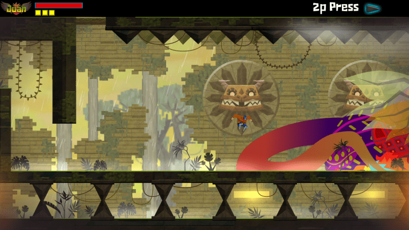 Guacamelee monster tail