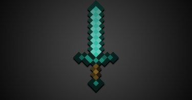 Minecraft-Diamond-Sword-HD-Wallpaper