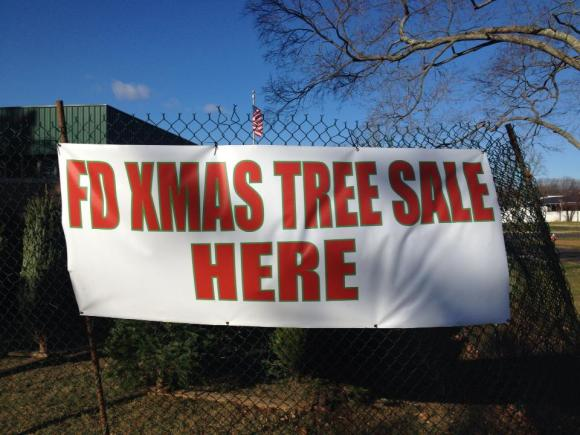 Fire Company Christmas Tree Sale To Kickoff Black Friday