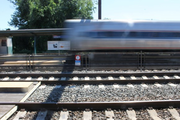 Person Survives Being Struck By Train