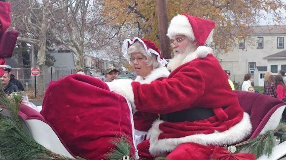 Annual Bristol Borough Christmas Parade Draws Large Crowd