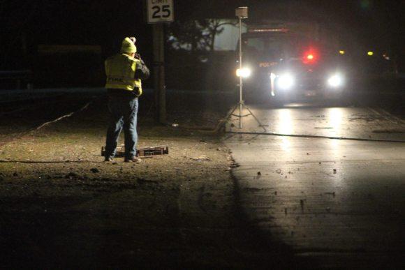 Violent Pickup Truck Crash Leaves One Dead