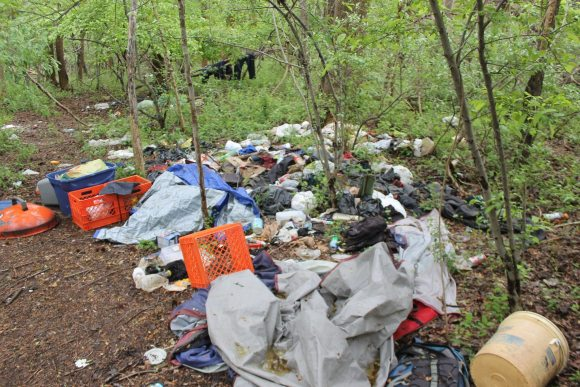 County Officials Begin To Clear Homeless Camps