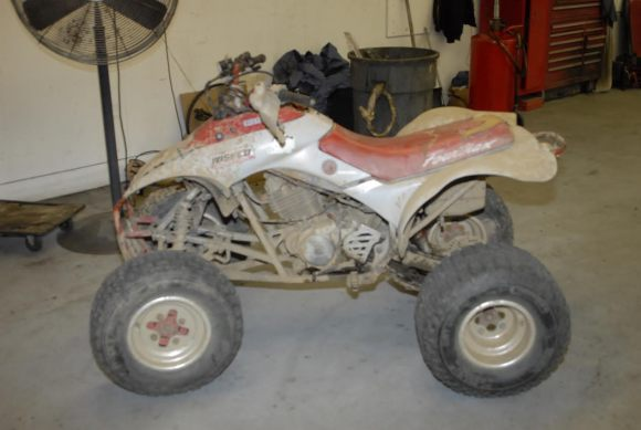 Police Look To Find Owner Of Quad