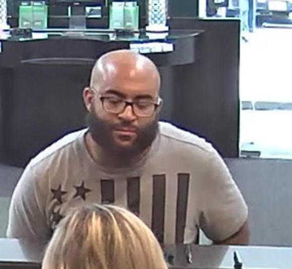 Bank Robbery Suspect Wanted