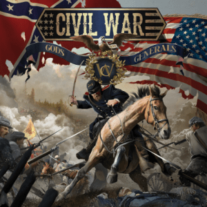 CIVIL WAR - GODS AND GENERALS - NAPALM RECORDS - 08 MAI