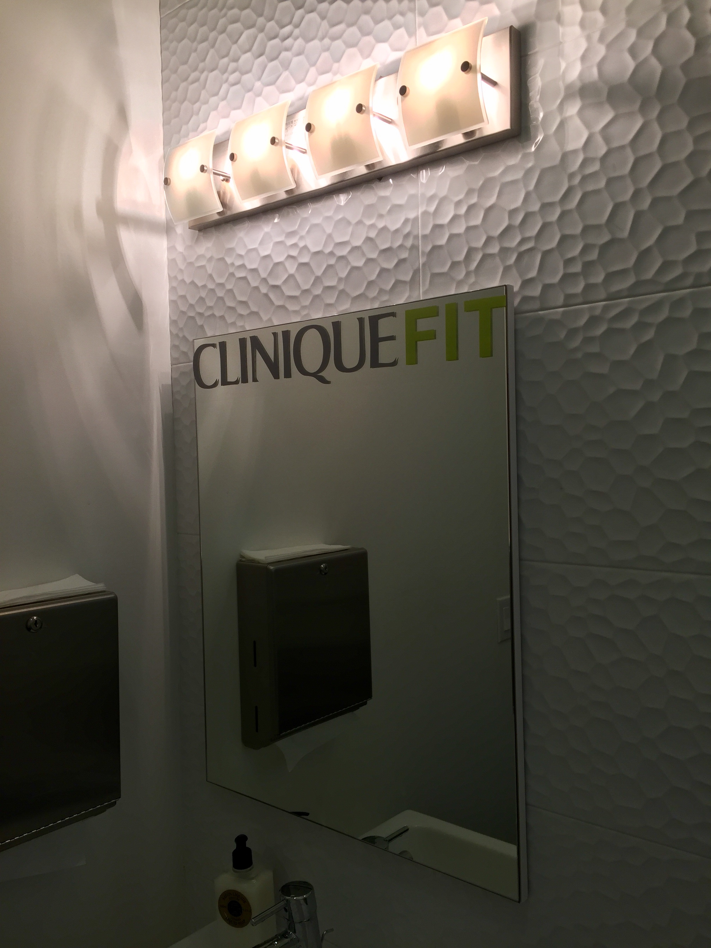 Nice branding in the bathroom