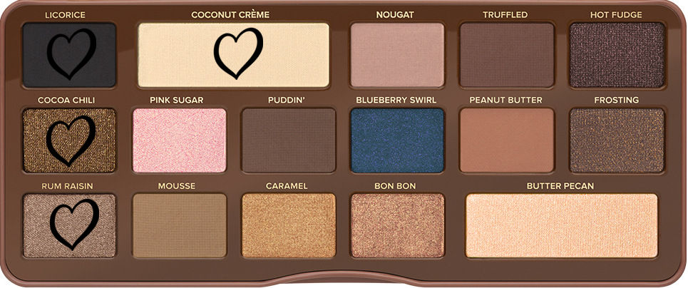 Semi-sweet chocolate bar too faced tutoriel soft smokey