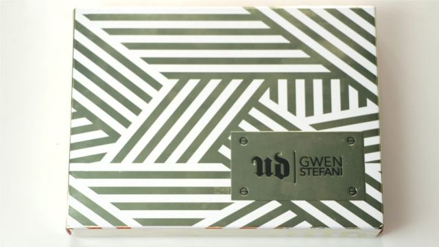 Palette Gwen Stefani Urban Decay Packaging extérieur