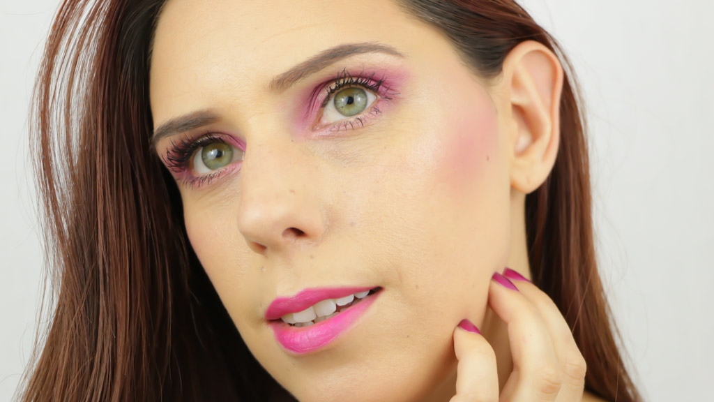 Monday Shadow Challenge maquillage Fushia-3