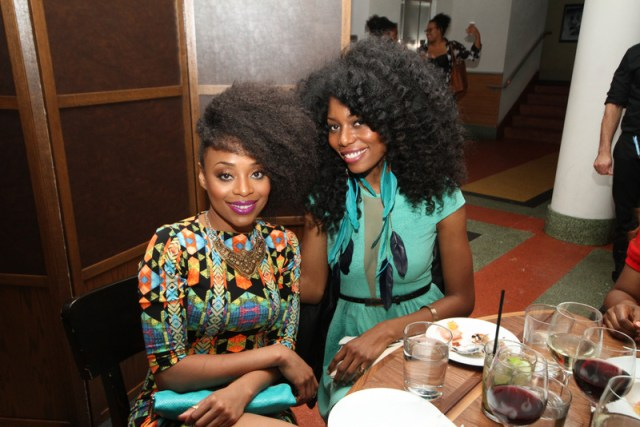 Vaughn Moore - Chime Edwards  at CATCH Miami for the Diva Dinner 1.24
