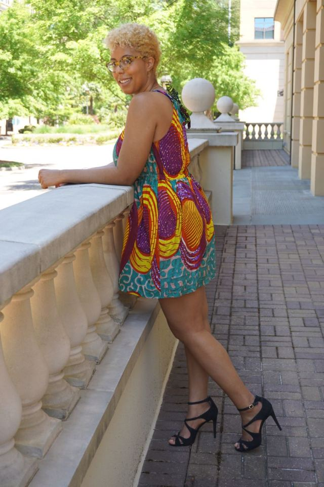 suakoko betty african print dress lexi with the curls zuvaa