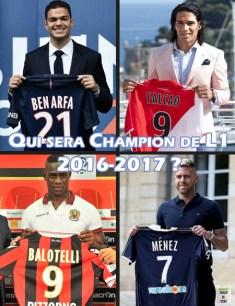 Les meilleures recrues de Ligue 1 2016-2017
