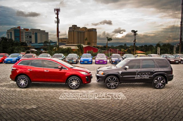 MazdaTech CX-7 vs Tribute Custom Pinoy Rides