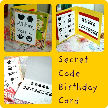 SecretCodeBirthdayCard