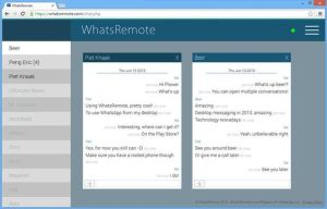WhatsRemote su pc