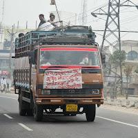 vehicles in crazy Delhi traffic