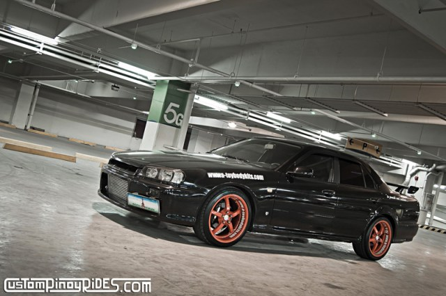 Toyota 1JZ-GTE powered Nissan R34 Skyline Custom Pinoy Rides pic1