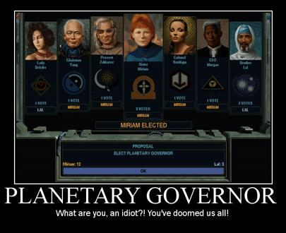 Miriam governor