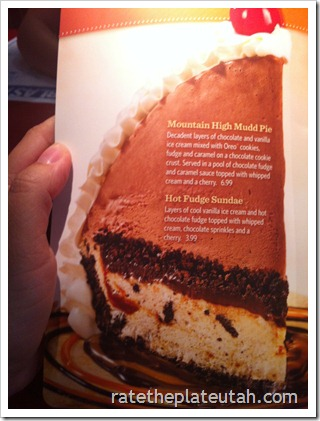 Red Robin Mud Pie
