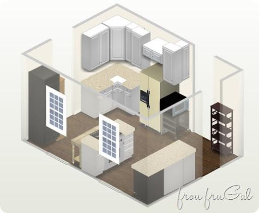 Kitchen Renovation - Part 2 - frou•fru•gal: [froo-froo-'GAL]