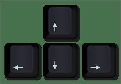 arrow navigation for blogger