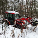 Kubota goes through almost aything