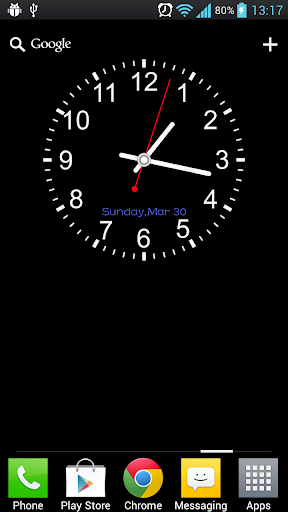 Download Analog Clock Live Wallpaper for PC