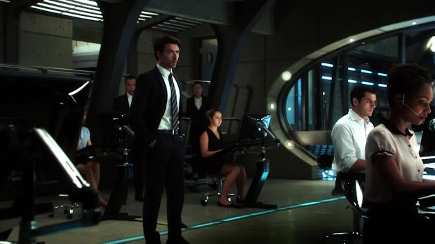 Still of Noah Bean, Samy Osman and Lyndie Greenwood in Nikita 3.0 (Episode 301) - Released October 19th, 2012