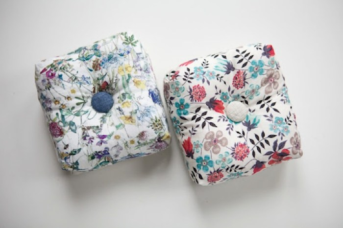 Liberty Pincushions Group 24
