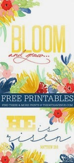 The 36th Avenue - Free Easter Watercolor Word Art Printables