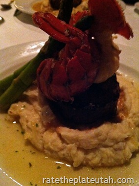 Christopher's Filet with Lobster