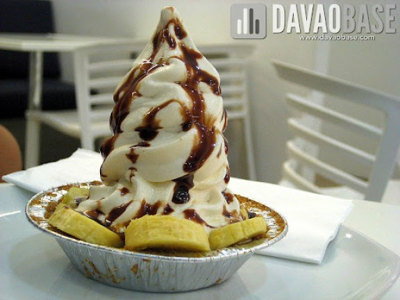 Banoffee Froz Pie at Yoh Froz