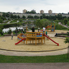 Playground is very popular among locals.