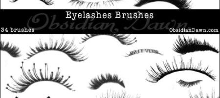[Brushes整理]假睫毛、眼妝筆刷集-1