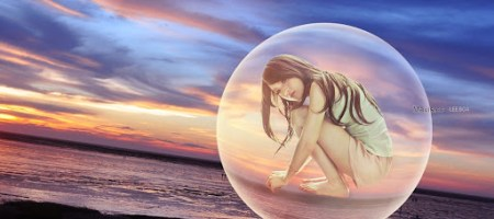 Photoshop-在照片裡創建水晶球