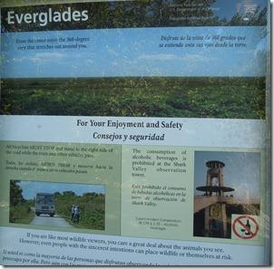 Everglades Shark Valley Bike Trail