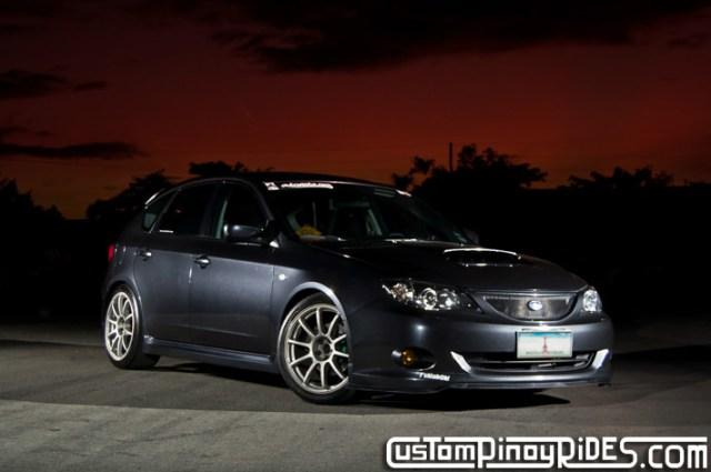 Aurick Go Subaru Impreza WRX Custom Pinoy Rides