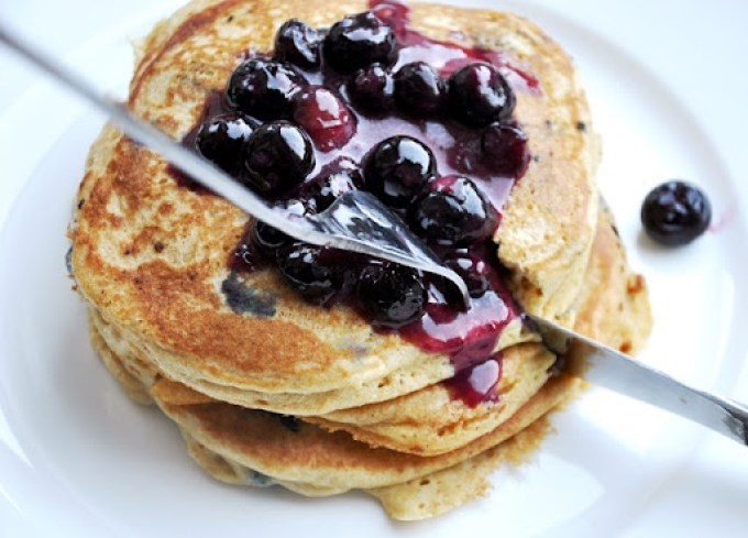 blueberry pancakes 100