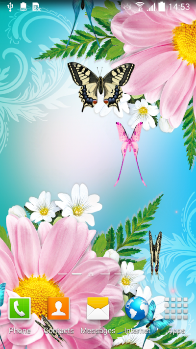 Butterflies Live Wallpaper - Android Apps on Google Play