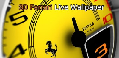 3D Ferrari Live Wallpaper - Android Forums at AndroidCentral.com